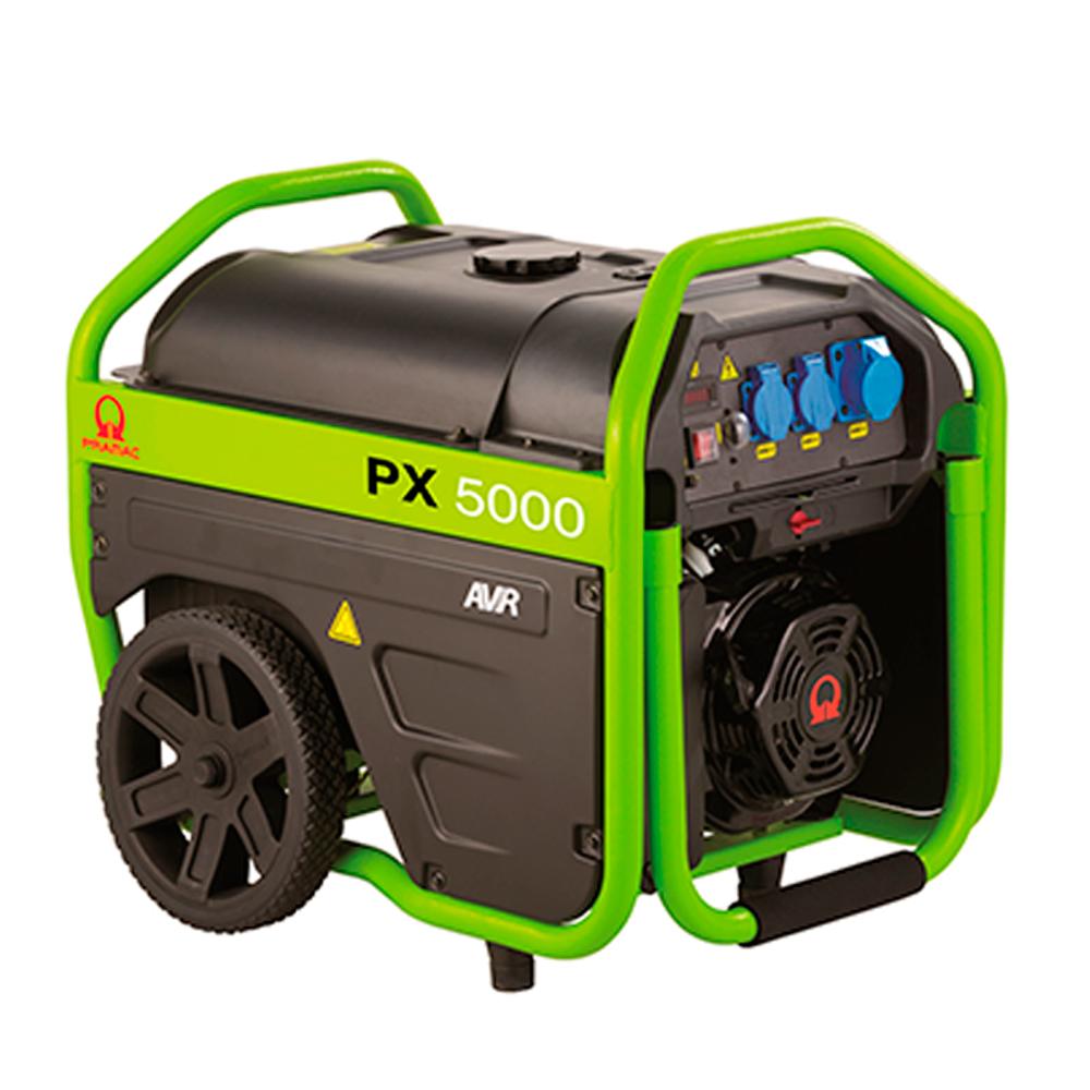 Gerador de Energia Portátil à Gasolina Pramac 6,1 KVA