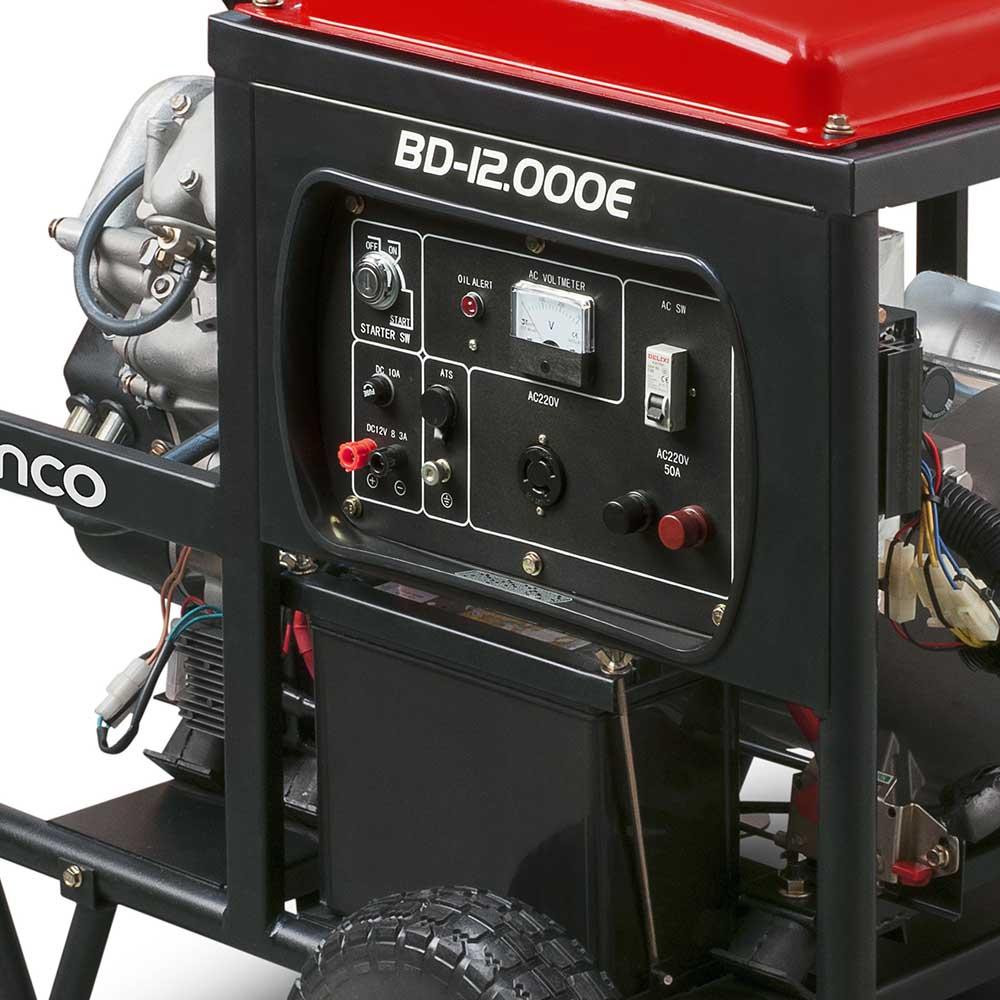 Gerador de Energia à Diesel Branco 11 KVA