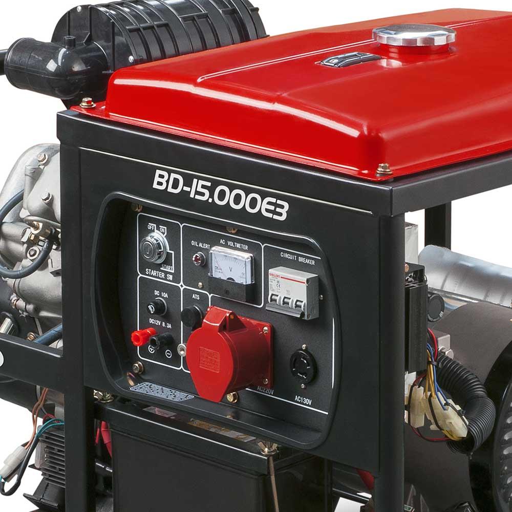 Gerador de Energia à Diesel Branco 14 KVA