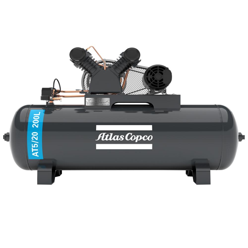 Compressor de Ar Premium Atlas Copco 200 litros - 20 Pés