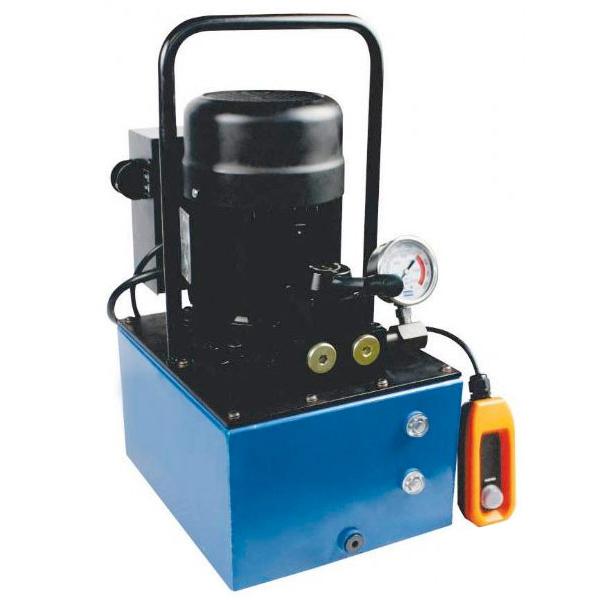 Bomba Hidraulica Unidade Elétrica Dupla Ação 8 Litros Motorizada