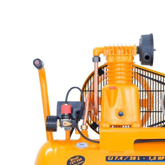 Compressor de Ar Chiaperini 28 litros - 7.4 Pés