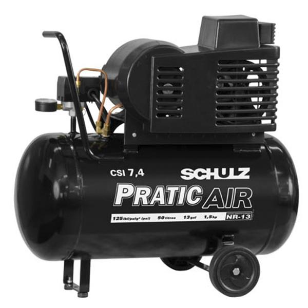 Compressor de Ar Schulz 50 litros - 7.4 Pés