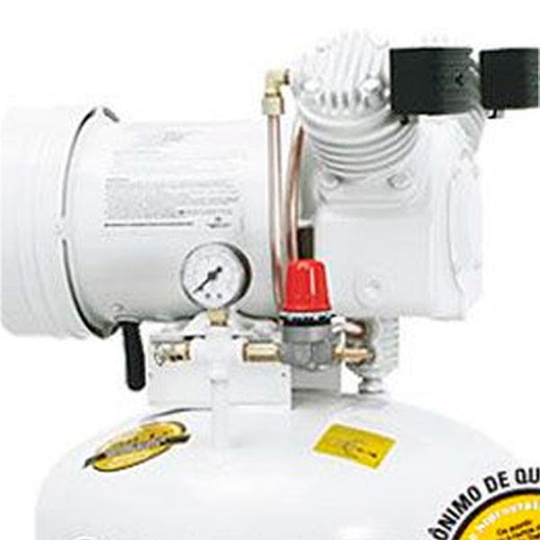 Compressor Odontológico Silencioso Schulz 30 litros - 6 pés