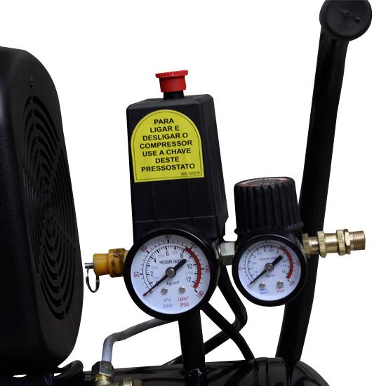 Motocompressor de ar Schulz 25 litros - 8.2 Pés 110v