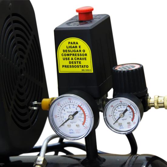 Motocompressor de ar Schulz 25 litros - 8.2 Pés 220v