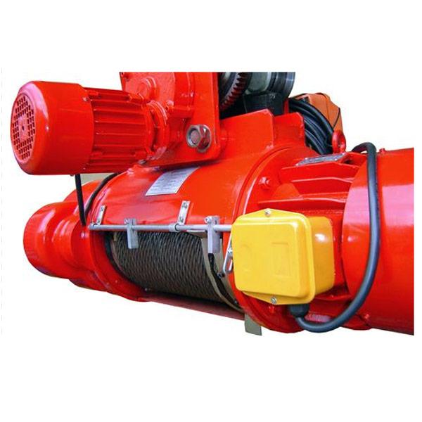 Talha Elétrica 1 Tonelada de cabo de aço com Trolley