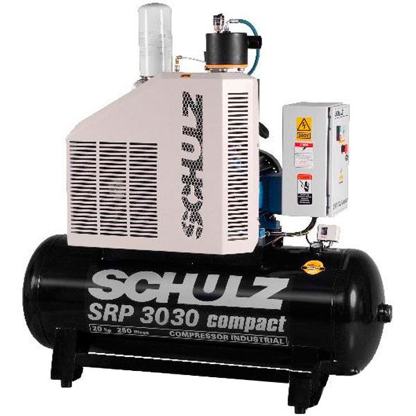 Compressor de Ar Parafuso Schulz Compact 30 HP - 500 Litros