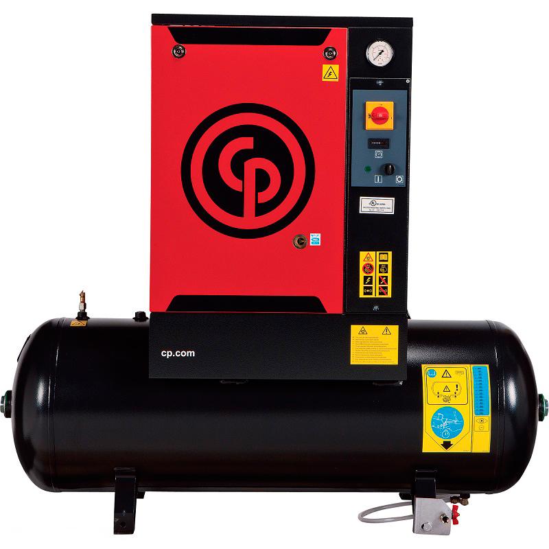 Compressor de Ar Parafuso Chicago Pneumatic 7.5 HP - 265 Litros