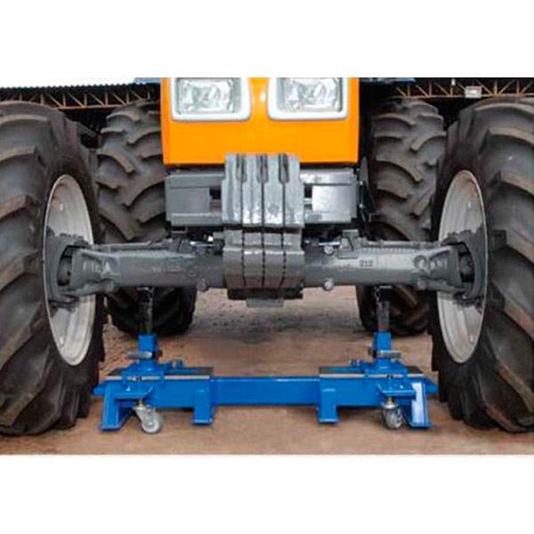 Cavalete Mecânico com Rodas 80 Ton NC48 D V1