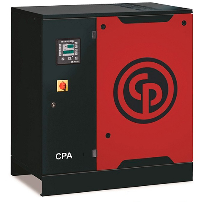 Compressor de Ar Parafuso Chicago Pneumatic 20 HP 400 Litros com Secador