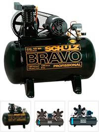 Compressor de Ar Schulz Chiaperini Wayne Pressure e completa linha para profissionais industriais e odontológicos