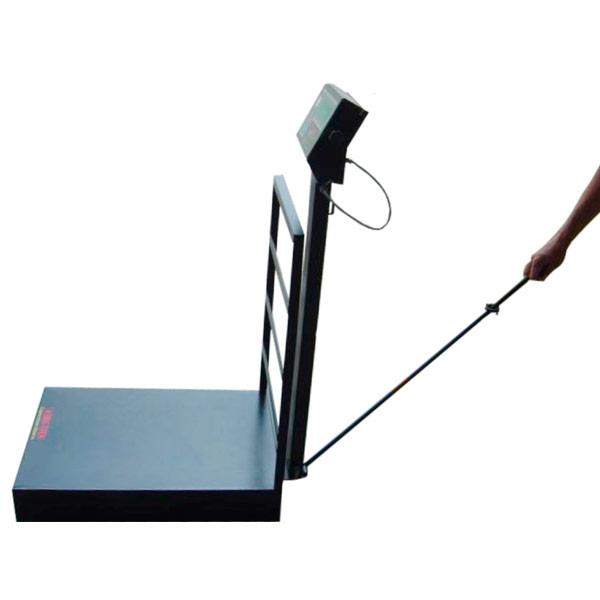 Balança Móvel Digital 500 KG - Com Rodas