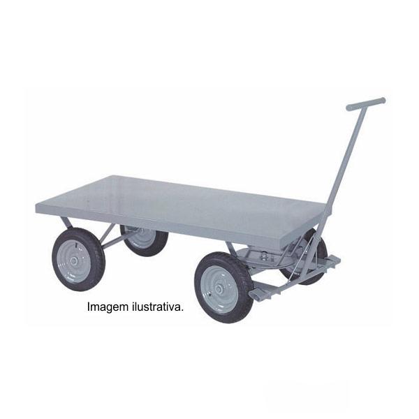 Carro Plataforma Pneumático 1200 Kg TM 55