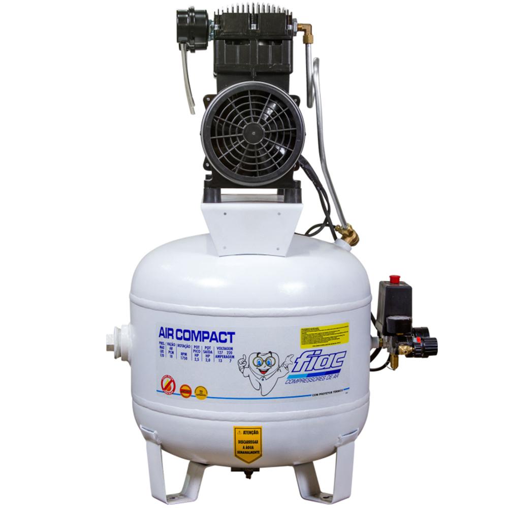 Compressor Odontológico Fiac 40 litros - 12 pés