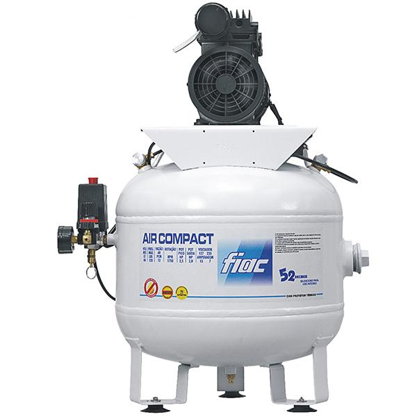 Compressor Odontológico Silencioso Fiac 40 litros - 6 pés