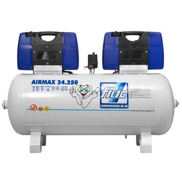 Compressor Odontológico Fiac 250 litros - 24 pés