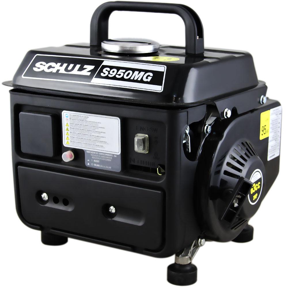 Gerador de Energia Portátil à Gasolina Schulz 0.95 KVA