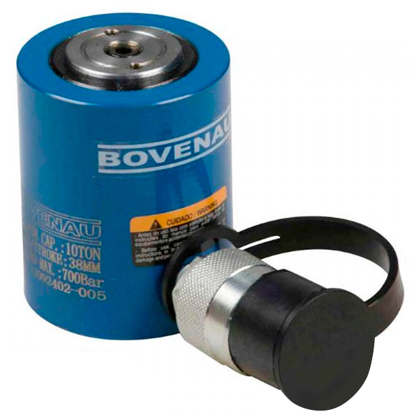 Cilindro Hidráulico Simples Ação 10 Ton CC 10038