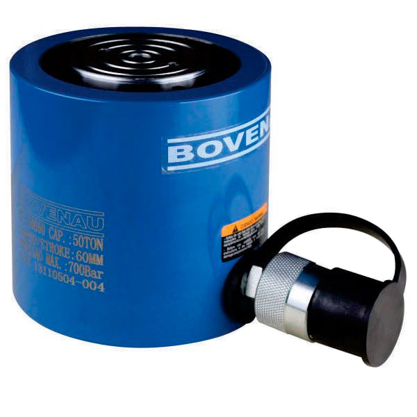 Cilindro Hidráulico Simples Ação 50 Ton CC 50060