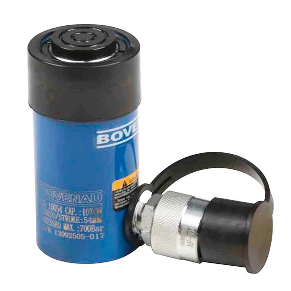 Cilindro Hidráulico Simples Ação 10 Ton CS 10026