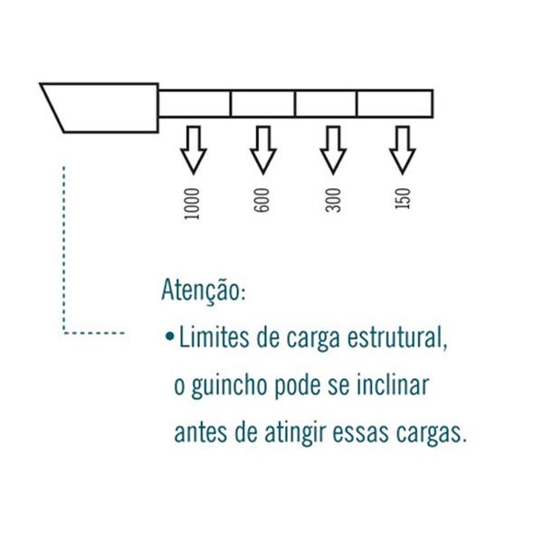 Guincho Hidráulico 3Ton com Braço Prolongador