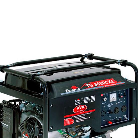 Gerador de Energia à Gasolina Toyama 7 KVA