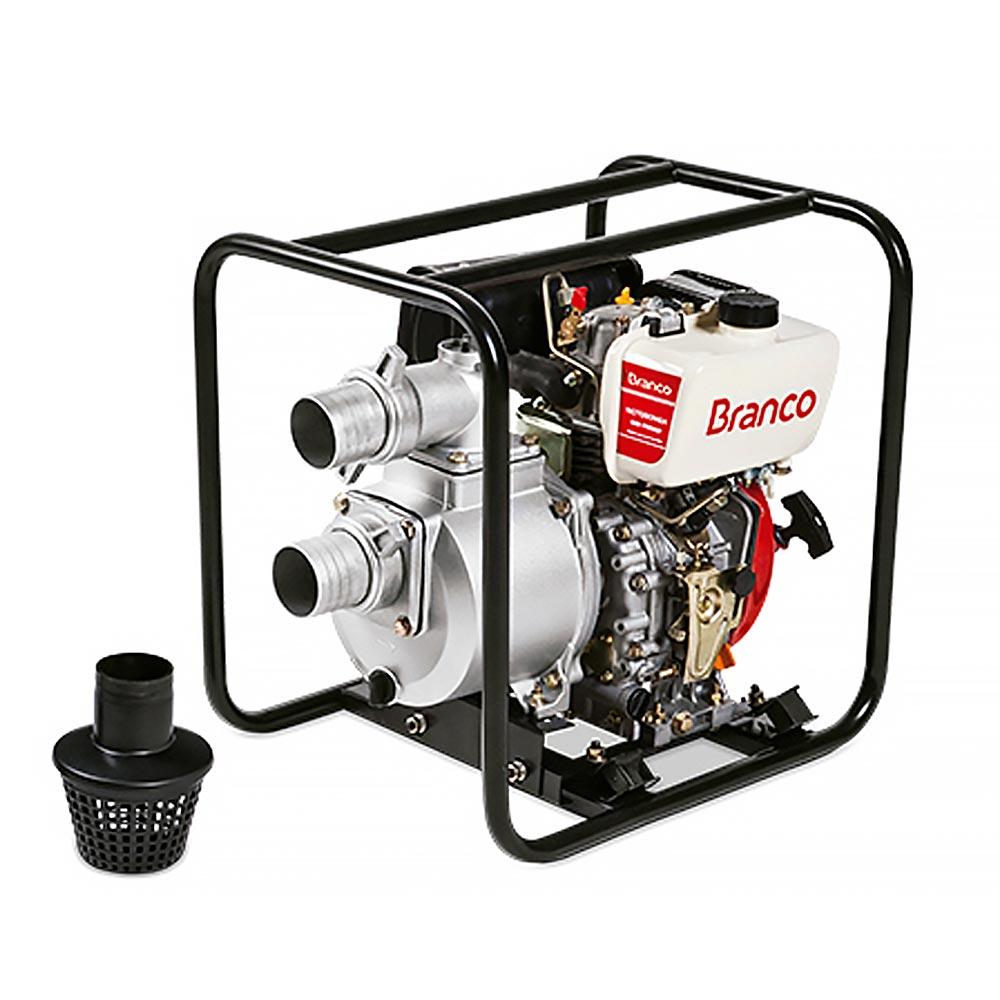 Motobomba Branco à Diesel 6.7 HP - BD 705CF