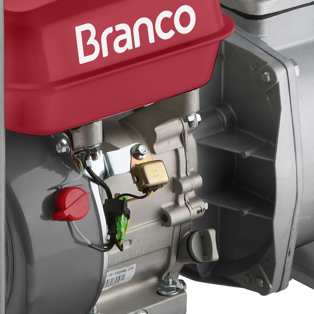 Motobomba Branco à Gasolina 5.5 HP - B4T 705L