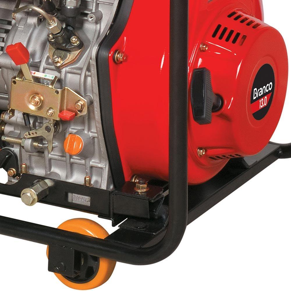 Gerador de Energia à Diesel Branco 6.5 KVA