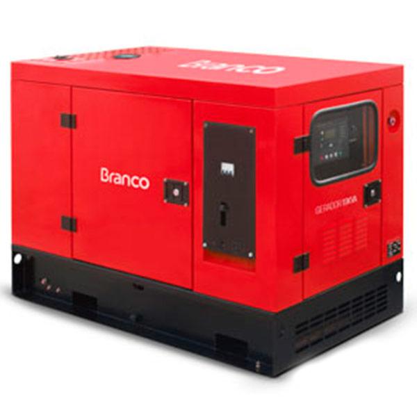 Gerador de Energia à Diesel 4T Branco 20.6 KVA com ATS