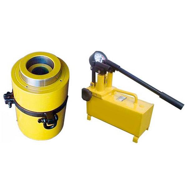 Conjunto Hidráulico Cilindro Haste Vazada 30 Ton