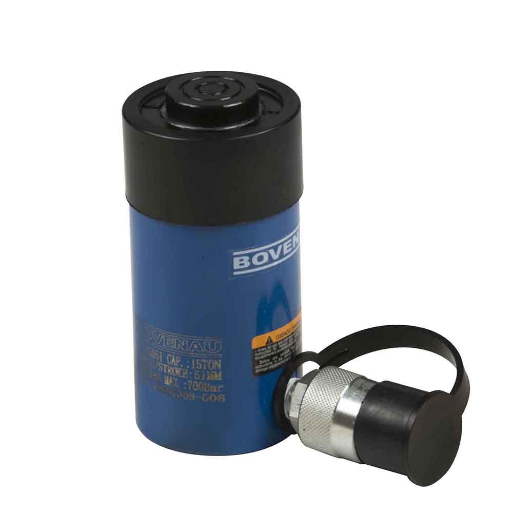 Cilindro Hidráulico Simples Ação 15 Ton CS-15025