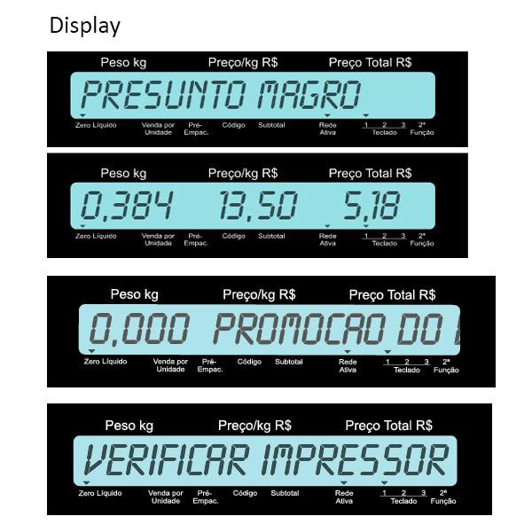 Balança Digital Toledo Prix 4 Uno 15 kg