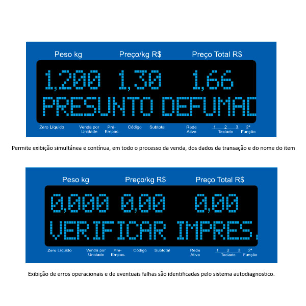 Balança Digital Toledo Prix 5 Plus 30 kg