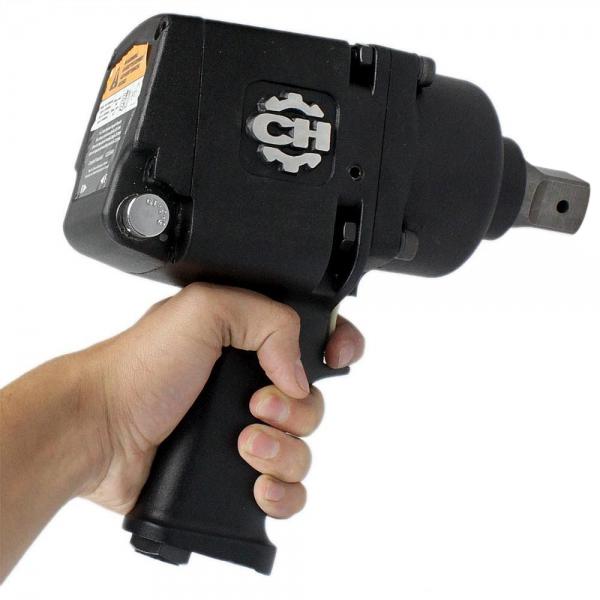 Chave de Impacto Tipo Pistola Pneumática Industrial de 1