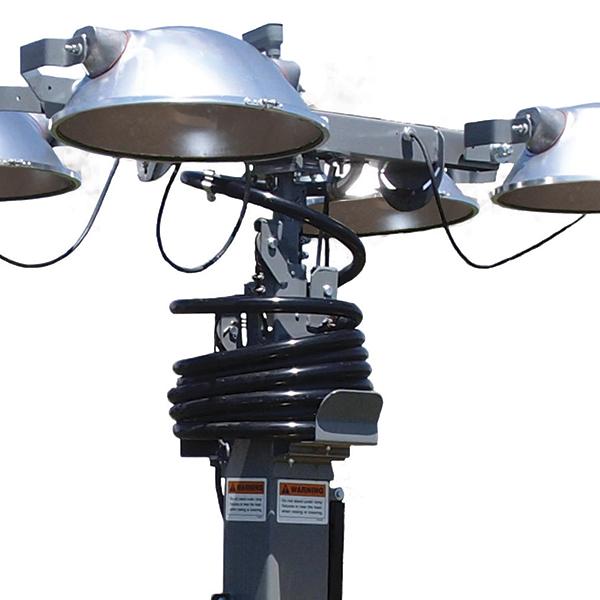 Torre de Iluminação Móvel Allmand - Motor Kubota 7,5 kW