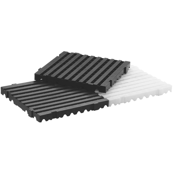 Estrado de Plástico Branco Heavy 5050 - 10 Peças