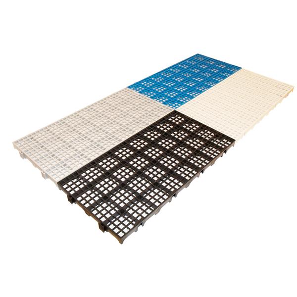 Estrado de Plástico Preto Cold 2550 - 10 Peças
