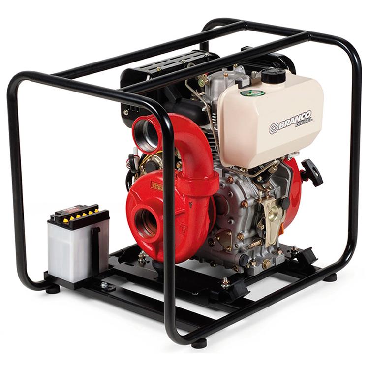 Motobomba Branco à Diesel 10 HP - BD 815i