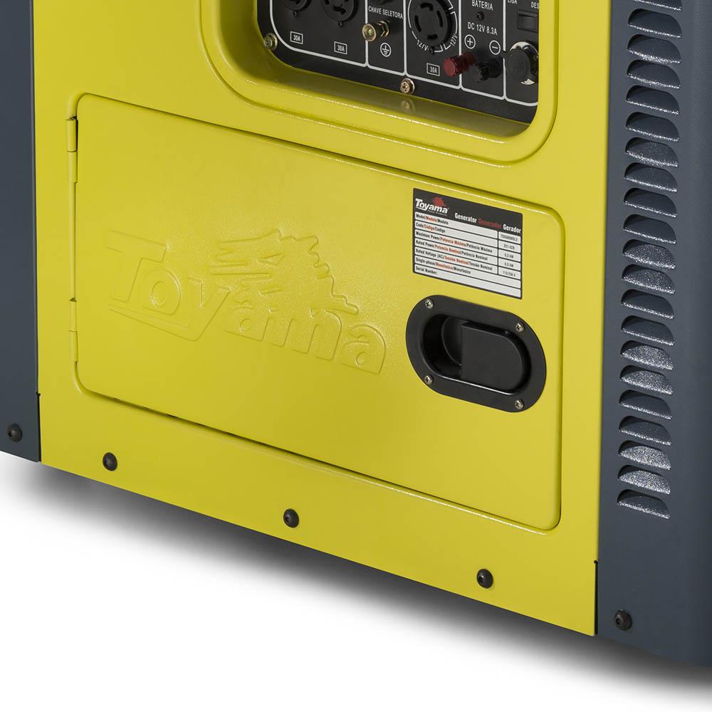 Gerador de Energia à Diesel Toyama 7.5 KVA