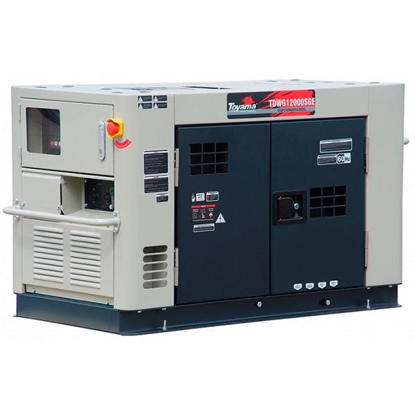 Gerador de Energia à Diesel Toyama 11.5 KVA