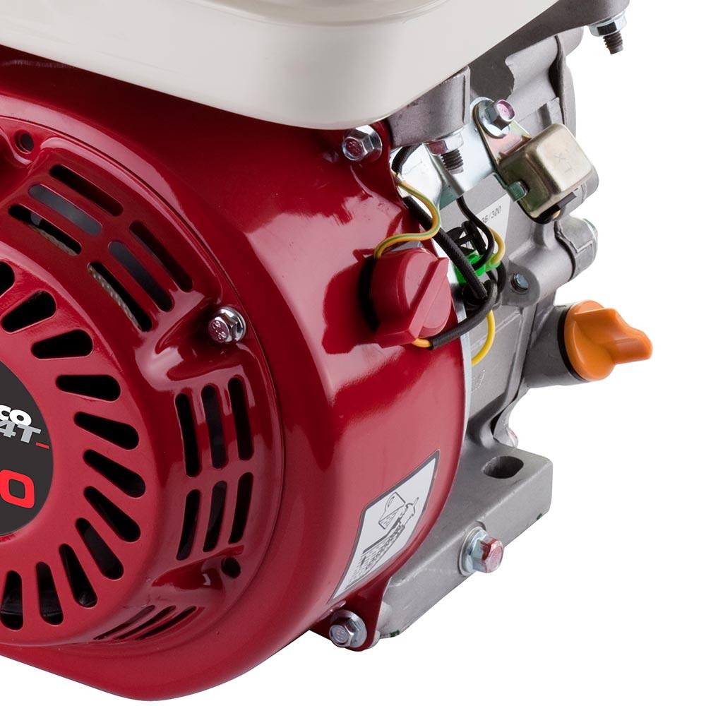 Motor Horizontal à Gasolina Branco 15 HP