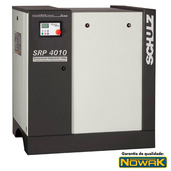 Compressor de Ar Parafuso Schulz 10 HP - Ar Direto