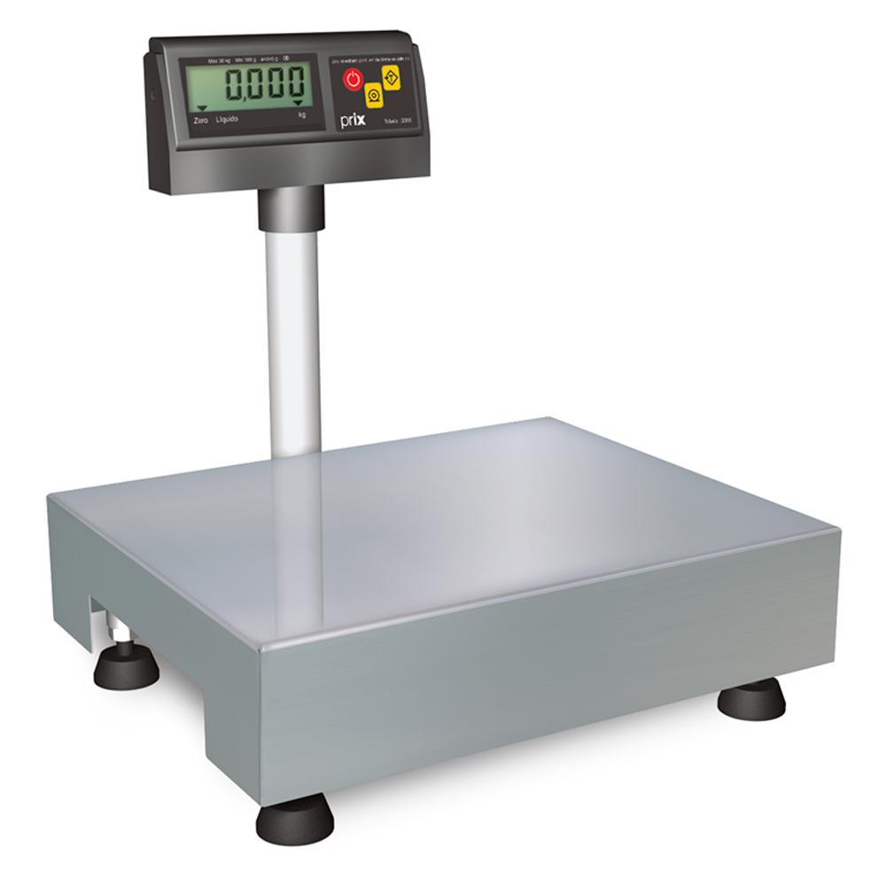 Balança Digital de Bancada Toledo 6 KG - Indicador na Coluna