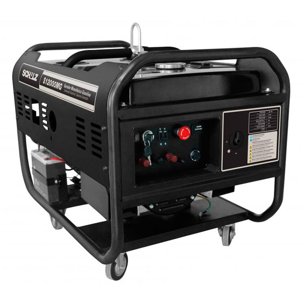 Gerador de Energia à Gasolina Schulz 10.5 KVA