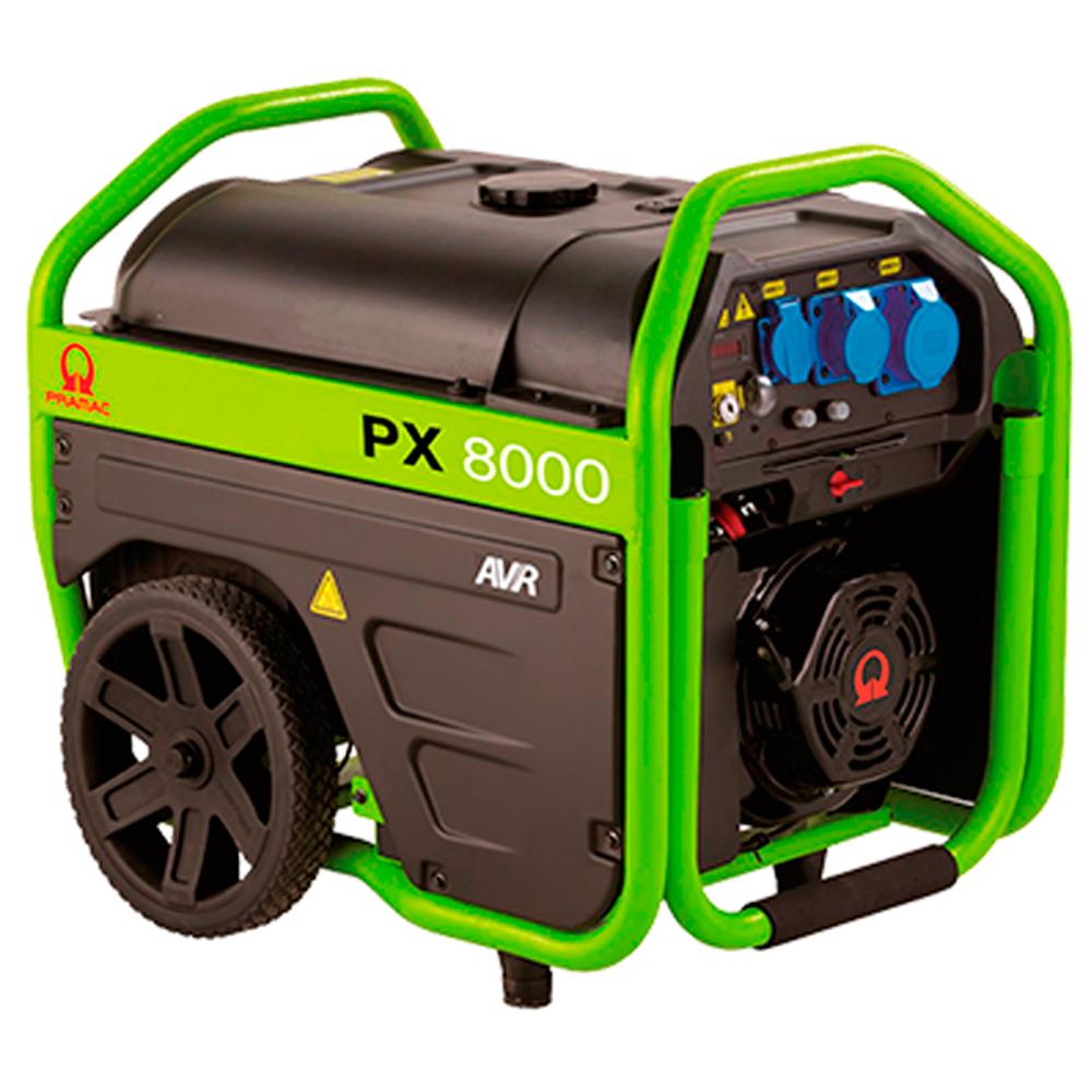 Gerador de Energia Portátil à Gasolina Pramac 6,6 KVA