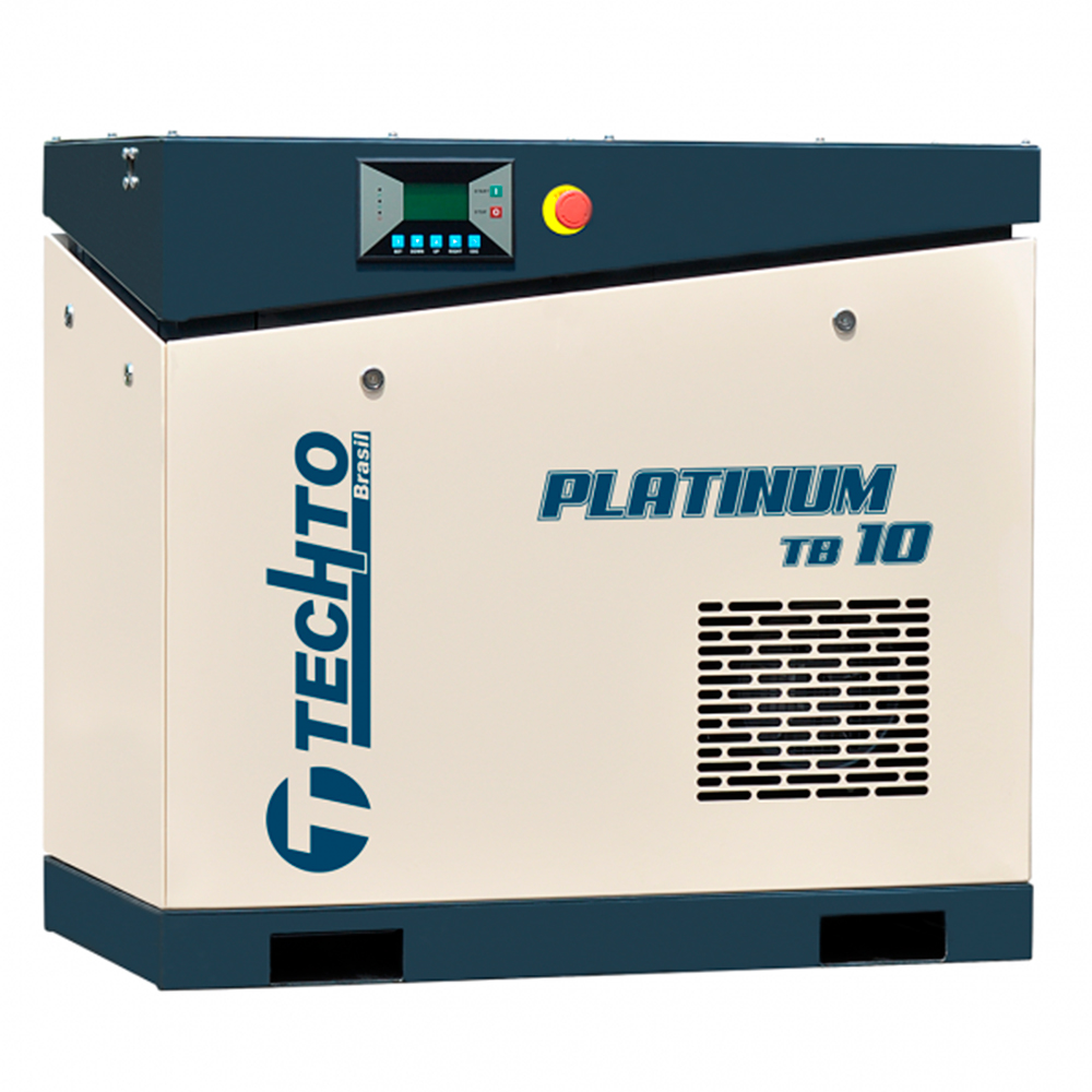 Compressor de Ar Parafuso TechTo 10 HP - Ar Direto