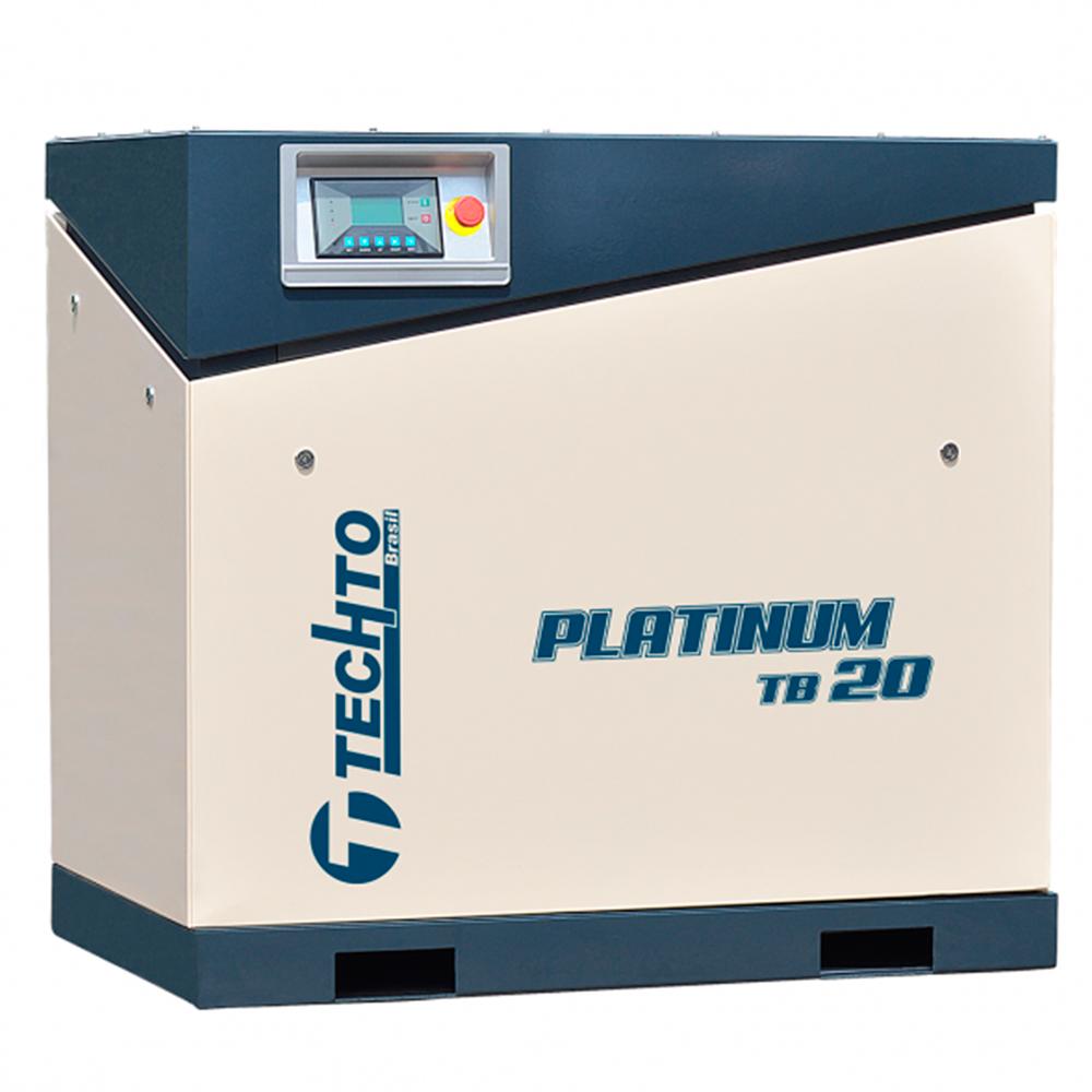 Compressor de Ar Parafuso TechTo 20 HP - Ar Direto