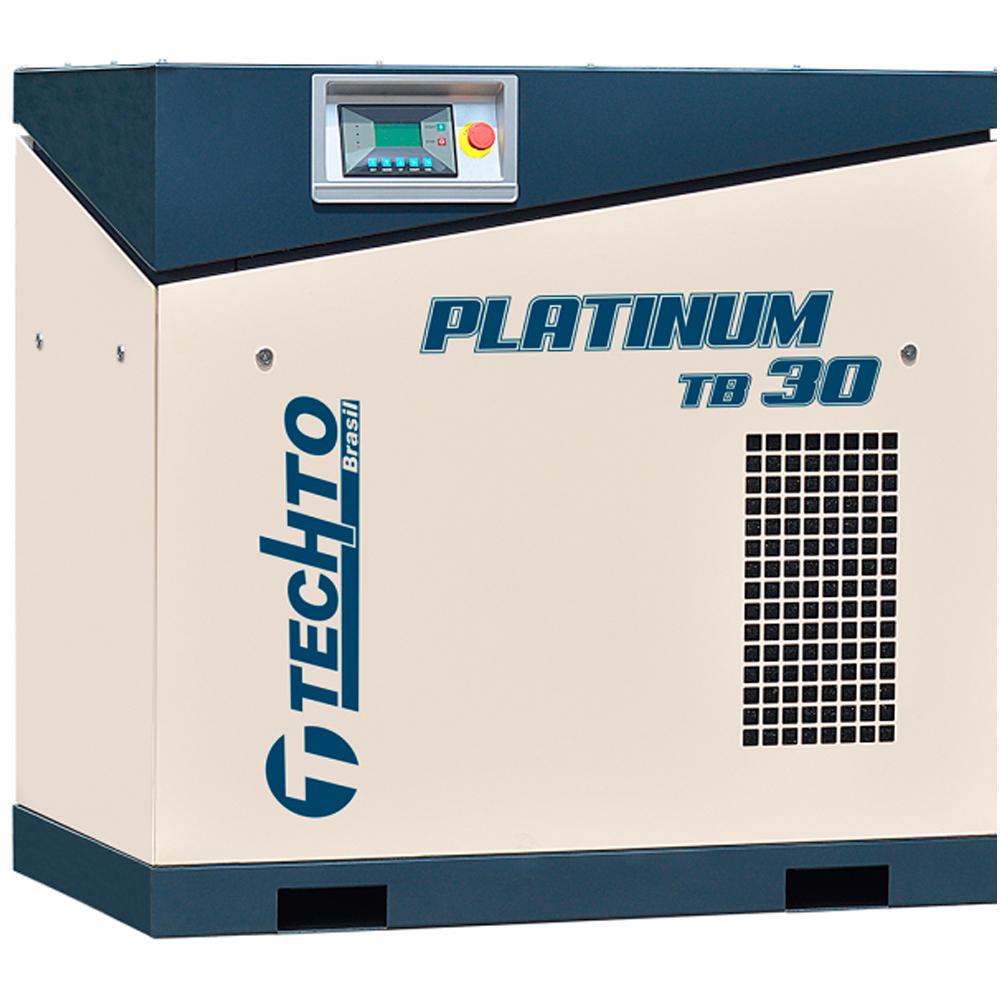 Compressor de Ar Parafuso TechTo 30 HP - Ar Direto